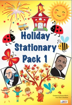 Holiday and Seasonal Stationary Pack 1