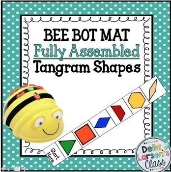 BEE BOT MAT with Tangram Shapes(HARD GOOD)