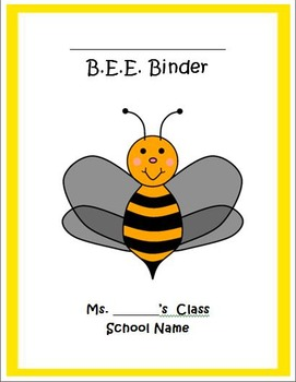 BEE Binder Template