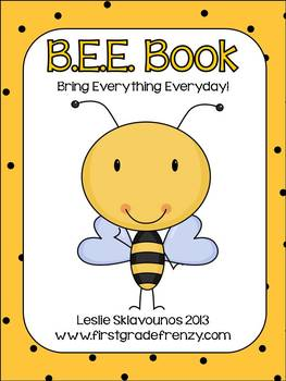BEE Book Organizational Tool for Students