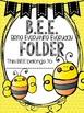 B.E.E. Folder {Bring Everything Everyday} Parent Communica