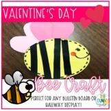 """BEE Mine!"" Valentine Day Craft and Writing Activity"