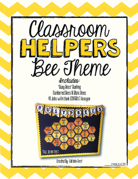 BEE Theme Classroom Helpers