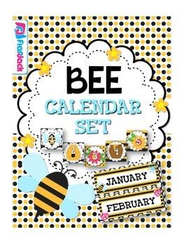 BEE Themed Calendar Set
