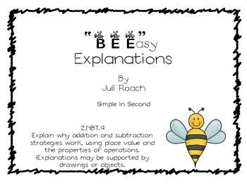 """BEE""asy Explanations (2.NBT.9)"