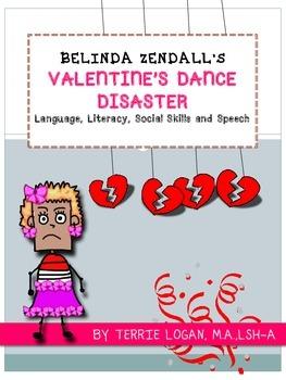 BELINDA ZENDALL'S VALENTINE'S DANCE DISASTER Language, Lit