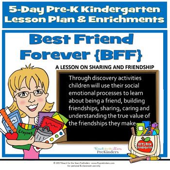 BEST FRIENDS FOREVER {BFF} ! 5-DAY LESSONS-ENRICHMENTS