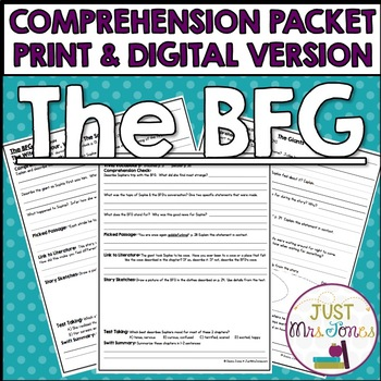 The BFG Comprehension Packet