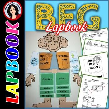 BFG Lapbook, Book Report