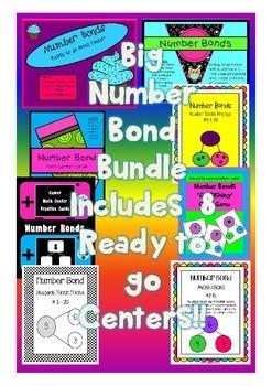 Number Sense - Number Bonds Bundle
