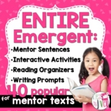 BIGGEST & BEST Mentor Sentence Bundle for K-1 (Emergent) -
