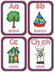 DUAL LANGUAGE ALPHABET FLASHCARDS IN ENGLISH & SPANISH