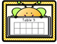 BILINGUAL Bee Theme Ten Frame Table Points (BEHAVIOR MANAGEMENT)