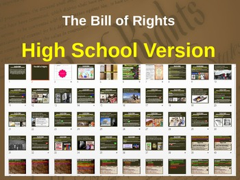 BILL of RIGHTS: images, videos, graphic organizers & case