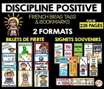 BILLETS DE FIERTÉ et SIGNETS SOUVENIRS - French Brag Tags