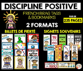 BILLETS DE FIERTÉ  - French Brag Tags  (236 PAGES)