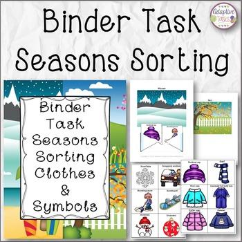 BINDER TASK Seasons Sorting