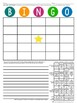 Writing Activity: BINGO with writing extension and rubric