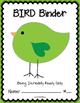 BIRD Binder {Student Organization Folder}