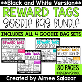 BLACK & WHITE Brag Tags {Goodie Bag BUNDLE}