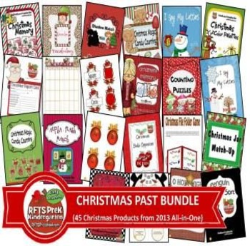 Christmas Past BUNDLE (45 Products)