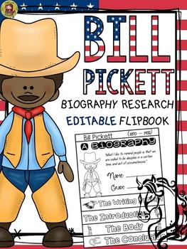 BLACK HISTORY: BIOGRAPHY: BILL PICKETT