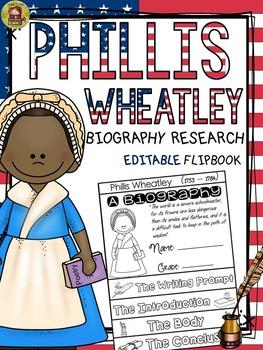 BLACK HISTORY: BIOGRAPHY: PHILLIS WHEATLEY