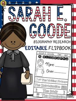 BLACK HISTORY: BIOGRAPHY: SARAH E. GOODE