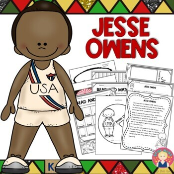 BLACK HISTORY - Jessie Owens
