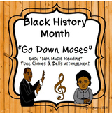 BLACK HISTORY MONTH SPIRITUAL Easy Tone Chimes & Bells Arr