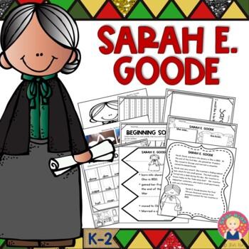 BLACK HISTORY - Sarah E. Goode