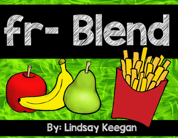 Blends: FR Blend Activities
