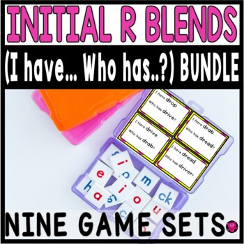 INTIAL R BLENDS EIGHT SET GAME BUNDLE