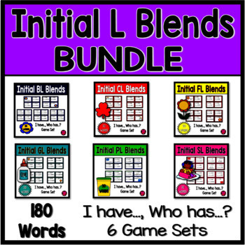 BLENDS BUNDLE with SIX INITIAL L GAMES