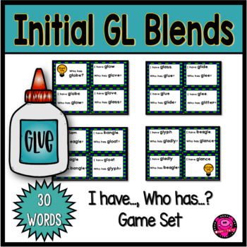 BLENDS GAMES for WHOLE GROUP with BEGINNING and ENDING GL