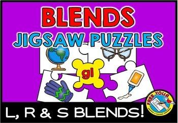 BLENDS ACTIVITIES: BLENDS PUZZLES: L BLENDS, R BLENDS & S