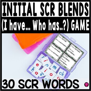 TRI BLENDS with SCR PRINTABLE GAMES for EMERGING and STRUG