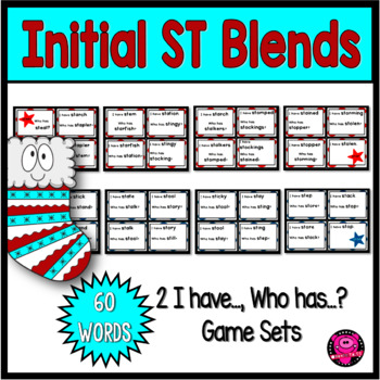 BLENDS with ST INTIAL and ENDING GAME SETS