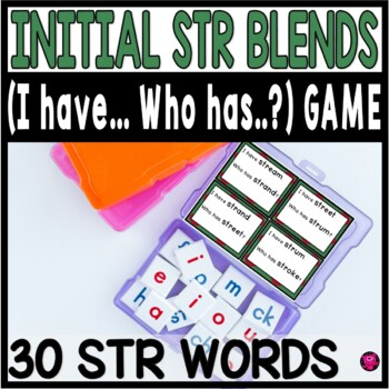 INTIAL TRI BLENDS with STR GAME SET