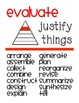 BLOOMS TAXONOMY Posters to be printed on any paper!
