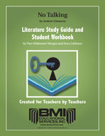 No Talking: Study Guide and Student Workbook