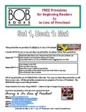 BOB Books Printables for Beginning Readers: Set 1, Book 1 MAT