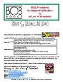 BOB Books Printables for Beginning Readers: Set 1, Book 3 DOT