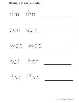 BOB Books Set Two Book 1 - Fun in the Sun
