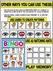 BODY PARTS-BINGO LITERACY CENTER ACTIVITY OR MATCHING MATS