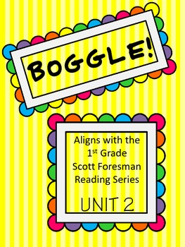 BOGGLE! 1st Grade Scott Foresman Unit 2 Week 1 /sh/ and /th/
