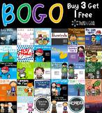 BOGO Novel Units-Buy 3 Get 1 FREE