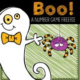 BOO! A Math Freebie