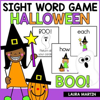 Sight Word Games-Halloween