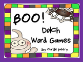 BOO! Dolch Word Games